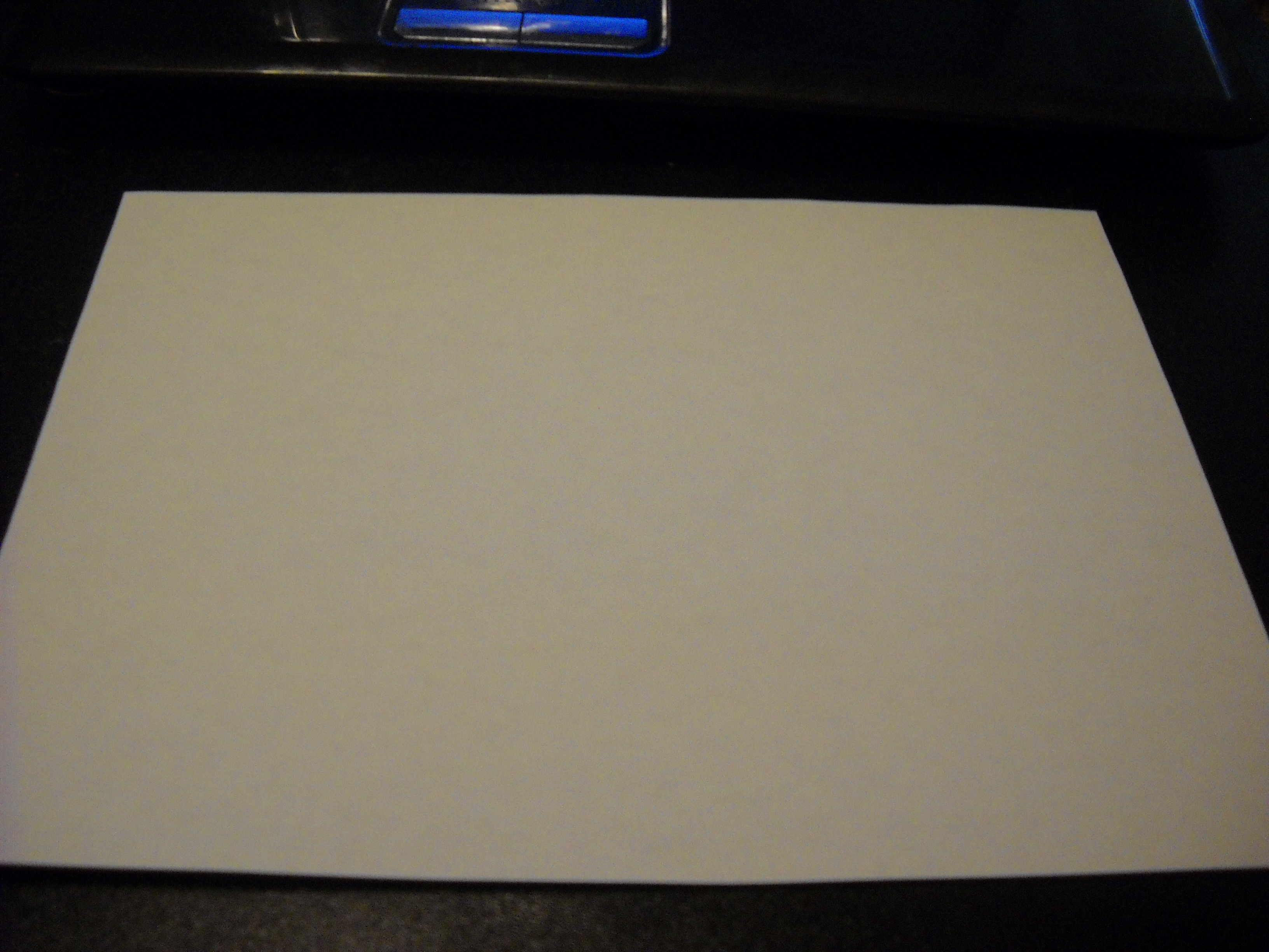 how to cover paper to use a marker on