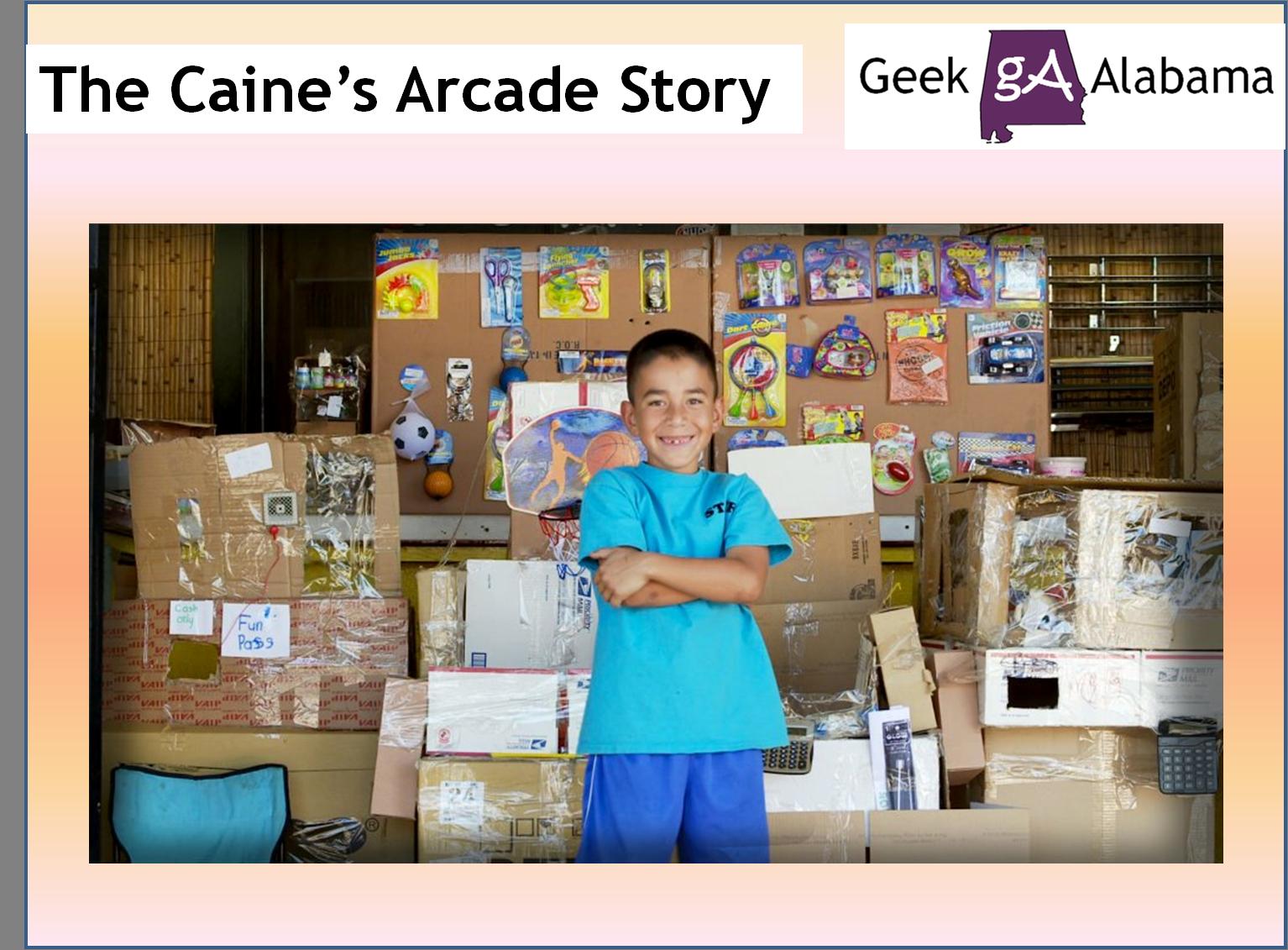 of Caine Monroy's Arcade