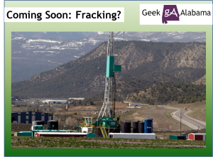 Coming Soon: Fracking?