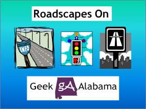 Roadscapes Wednesday: Interstate 75 Atlanta - Night Video