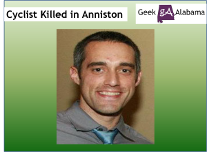 Cyclist Killed in Anniston