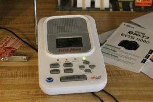 My weather radio.