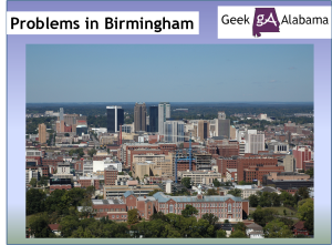 The Problems in Birmingham Alabama