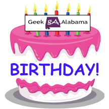 Geek Alabama Birthday