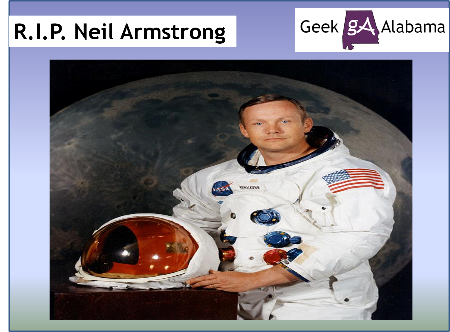 Neil Armstrong Died Today - Pics about space