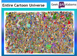 The Entire Cartoon Universe