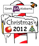 Geek Alabama Christmas 2012