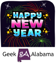 Geek Alabama New Year