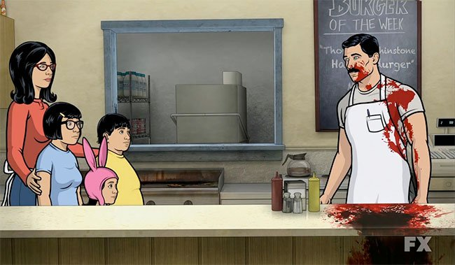 til in the original pitch for bob s burgers the family were actually