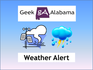 Geek Alabama Weather Alert