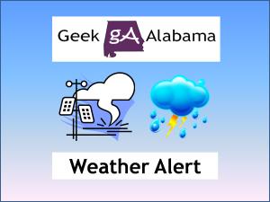 Geek Alabama Weather Alert