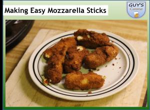Making Easy Mozzarella Sticks | Geek Alabama