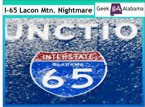 The Interstate 65 Lacon Mountain Nightmare