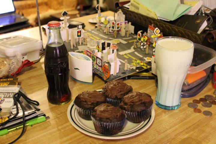 Triple Chocolate Chunk Muffins | Geek Alabama