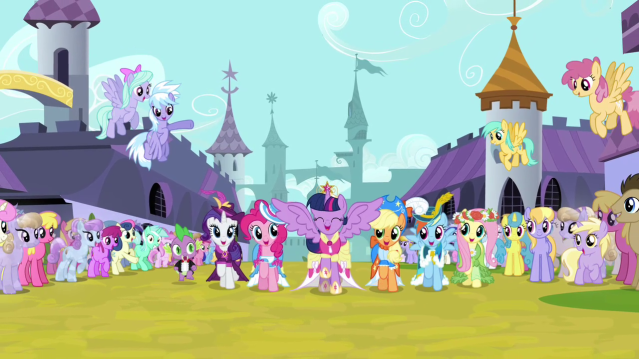 Twilight_and_friends_singing_and_trotting_S03E13