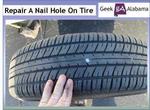 How To Repair A Nail Puncture Inside A Tire