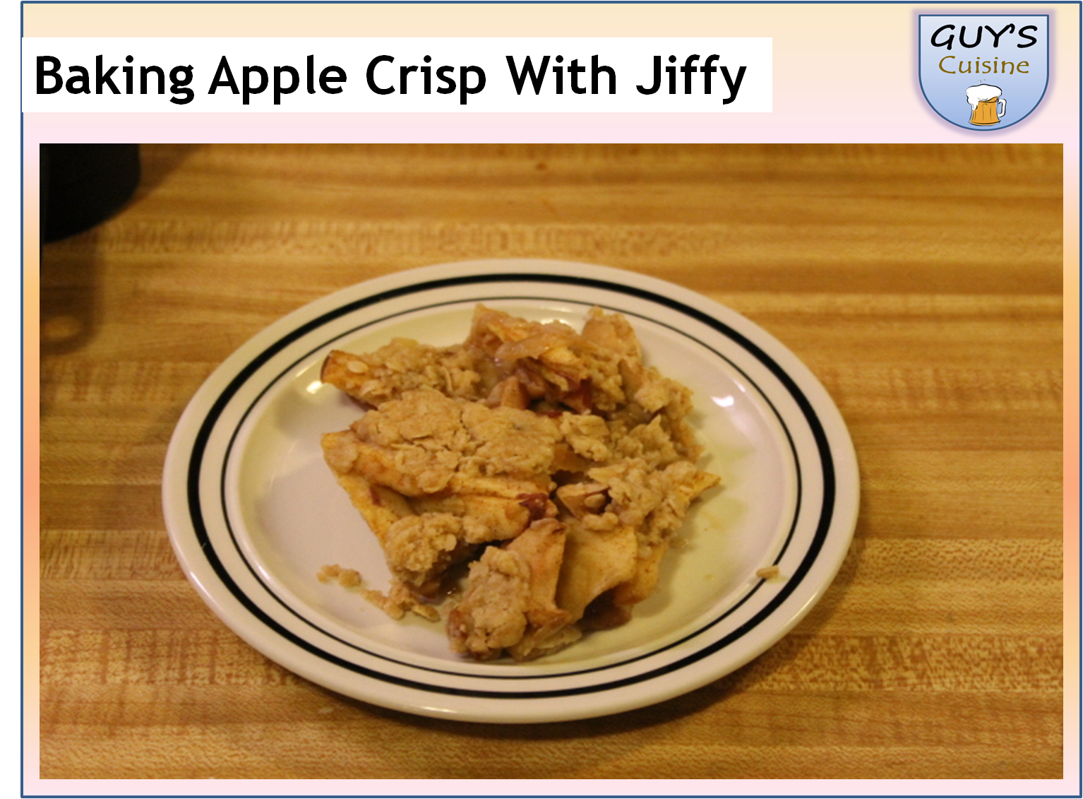 Apple Crisp Recipe With Jiffy Cake Mix