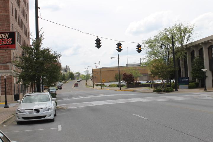 Roadscapes Wednesday Downtown Gadsden Traffic Lights