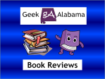 Geek Alabama Book Reviews