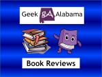 Geek Alabama Book Reviews