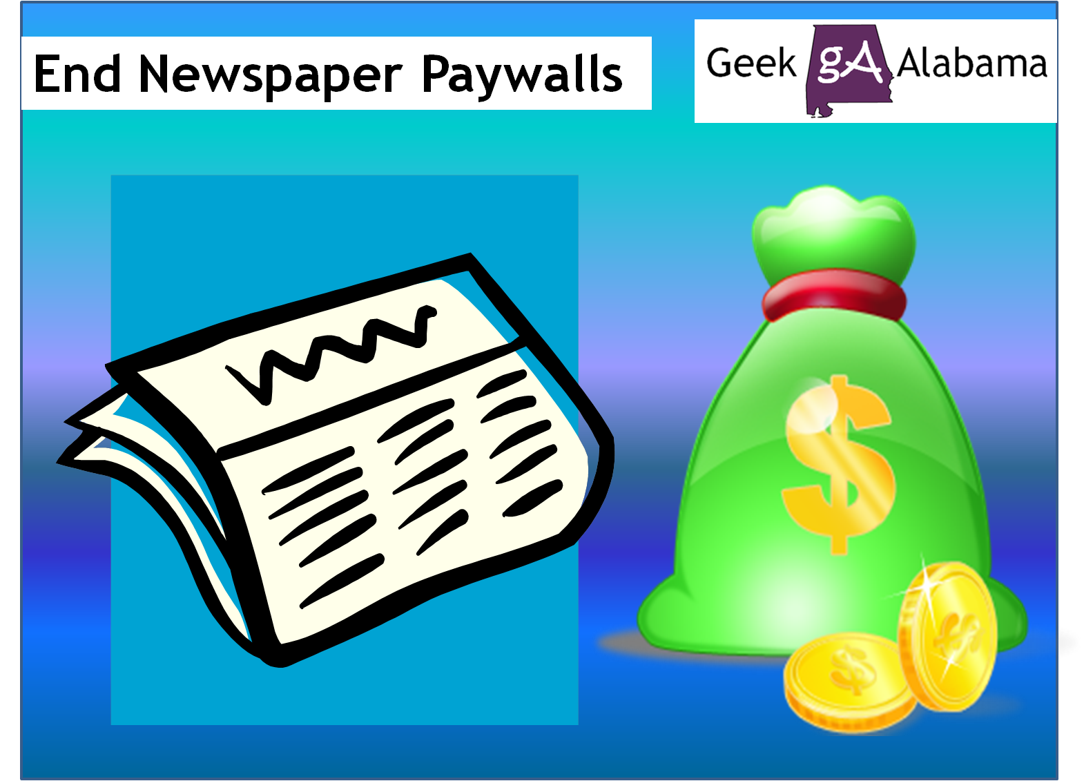 How To Get Around The Newspaper Paywalls – Geek Alabama