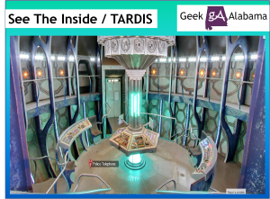 See the Inside of the TARDIS, Thanks to Google Maps