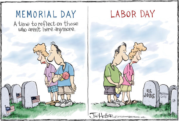 Funny Meme Labor Day : Animation monday labor day political cartoons geek