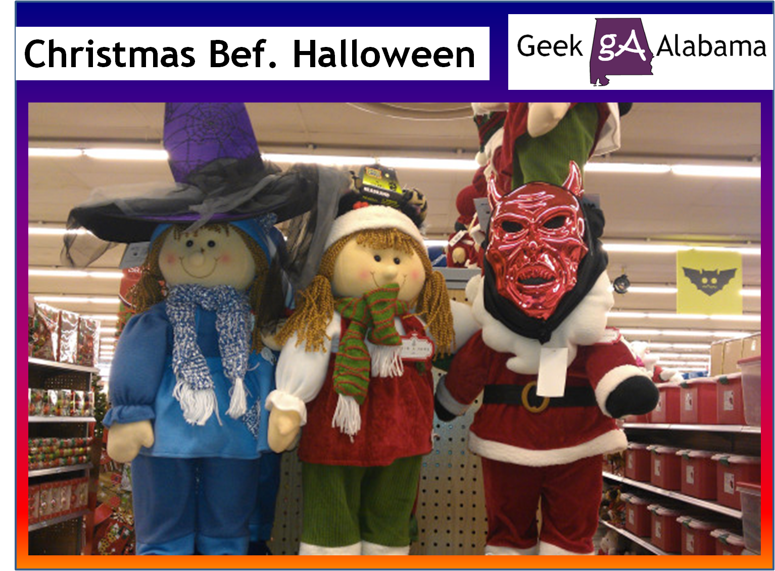Why Are Christmas Ads Appearing Before Halloween – Geek Alabama