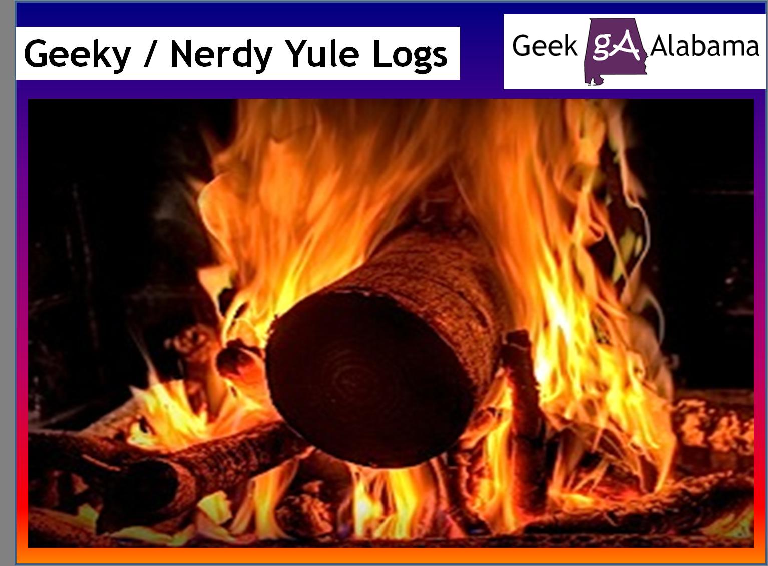 Yule Log Fire Yule logs for christmas