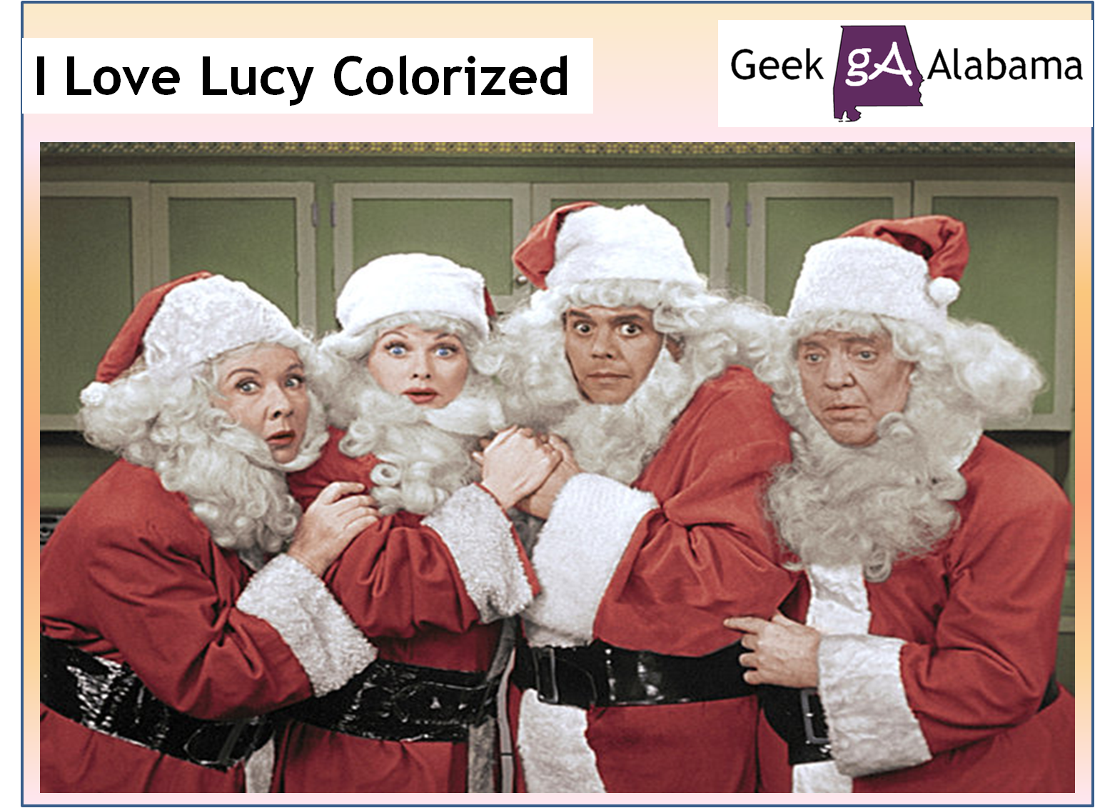 Watch The I Love Lucy Colorized Christmas Special – Geek Alabama