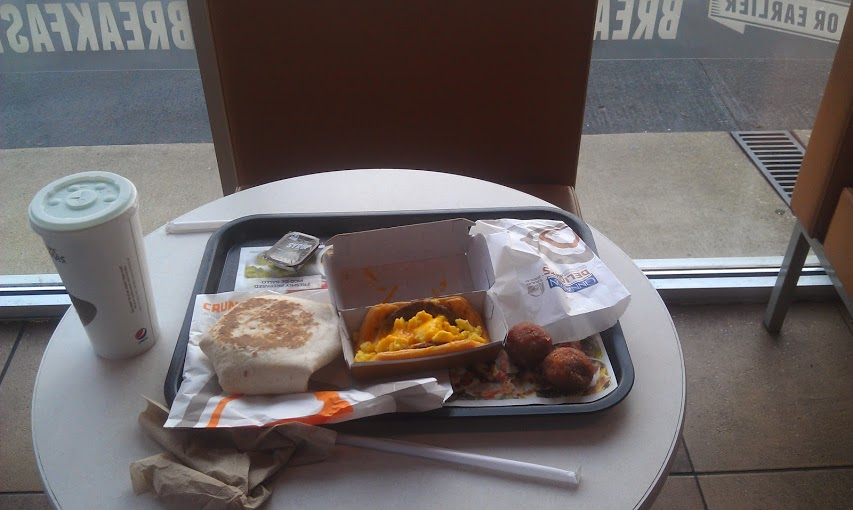 Food Review: Taco Bell's New Breakfast