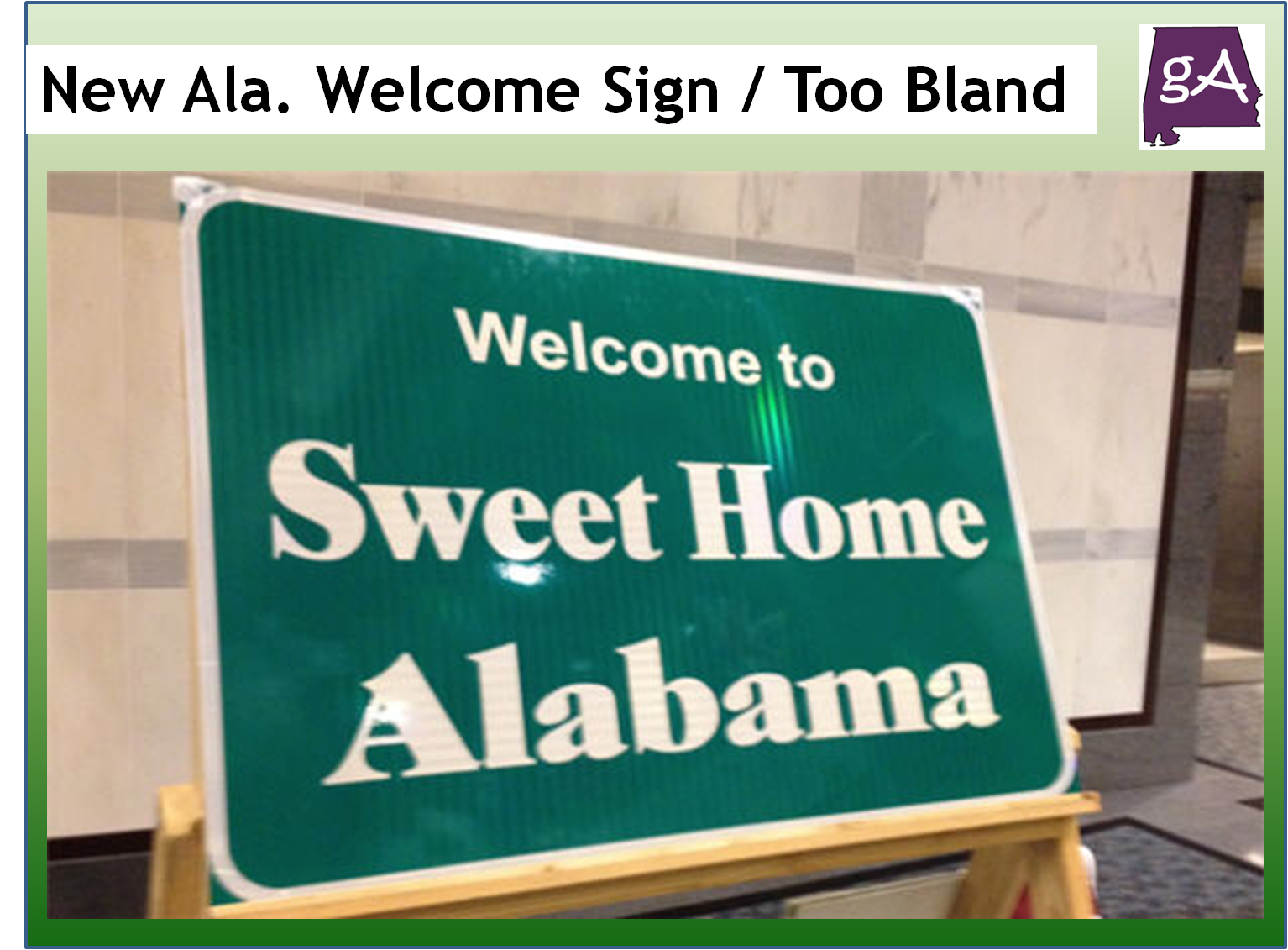 Welcome To Sweet Home Alabama I 59 Southbound Jimmy Emerson Dvm