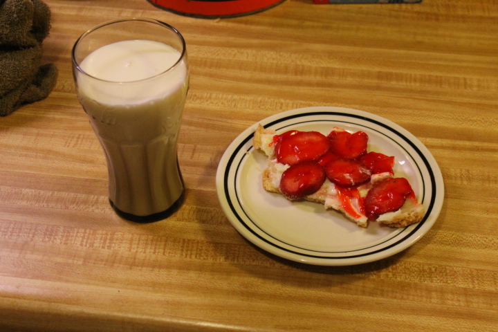 Guy's Cuisine: Strawberry Pizza