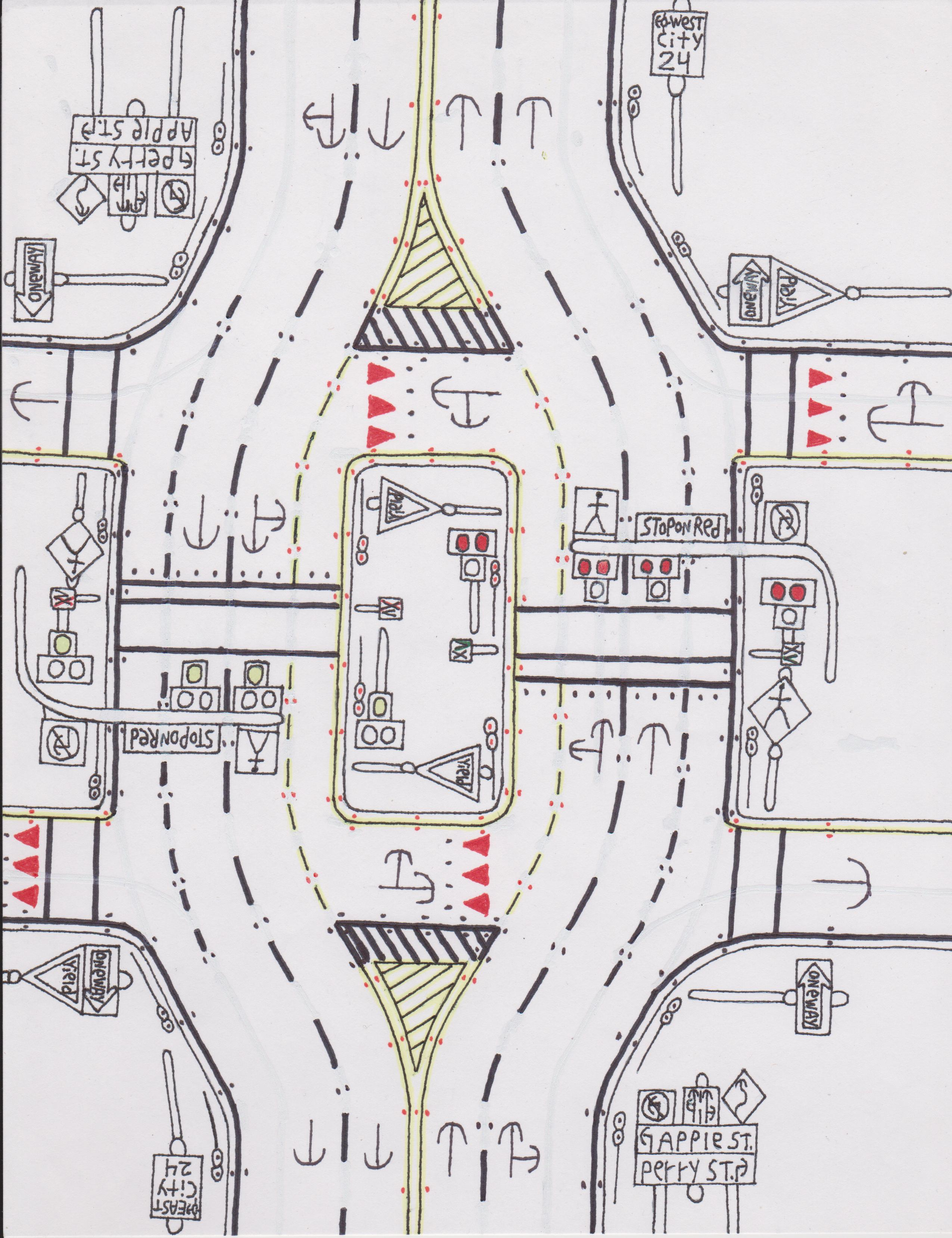 Roadscapes Wednesday: Five New Road Drawings Including a 28th ...