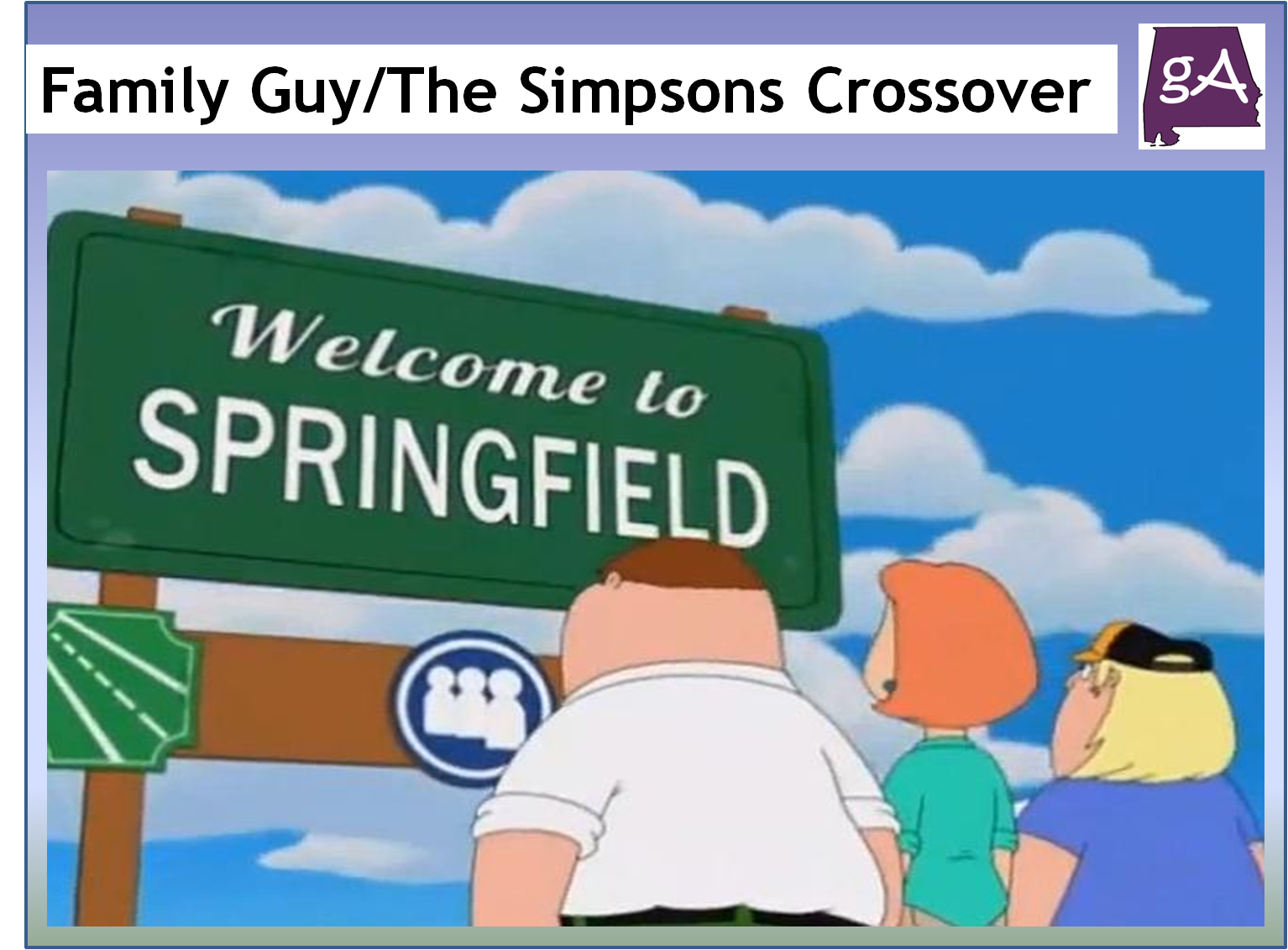 My Thoughts On The Simpsons / Family Guy Crossover