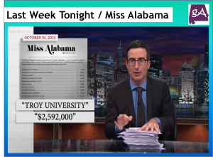 Watch Last Week Tonight With John Oliver Take Down Miss Alabama