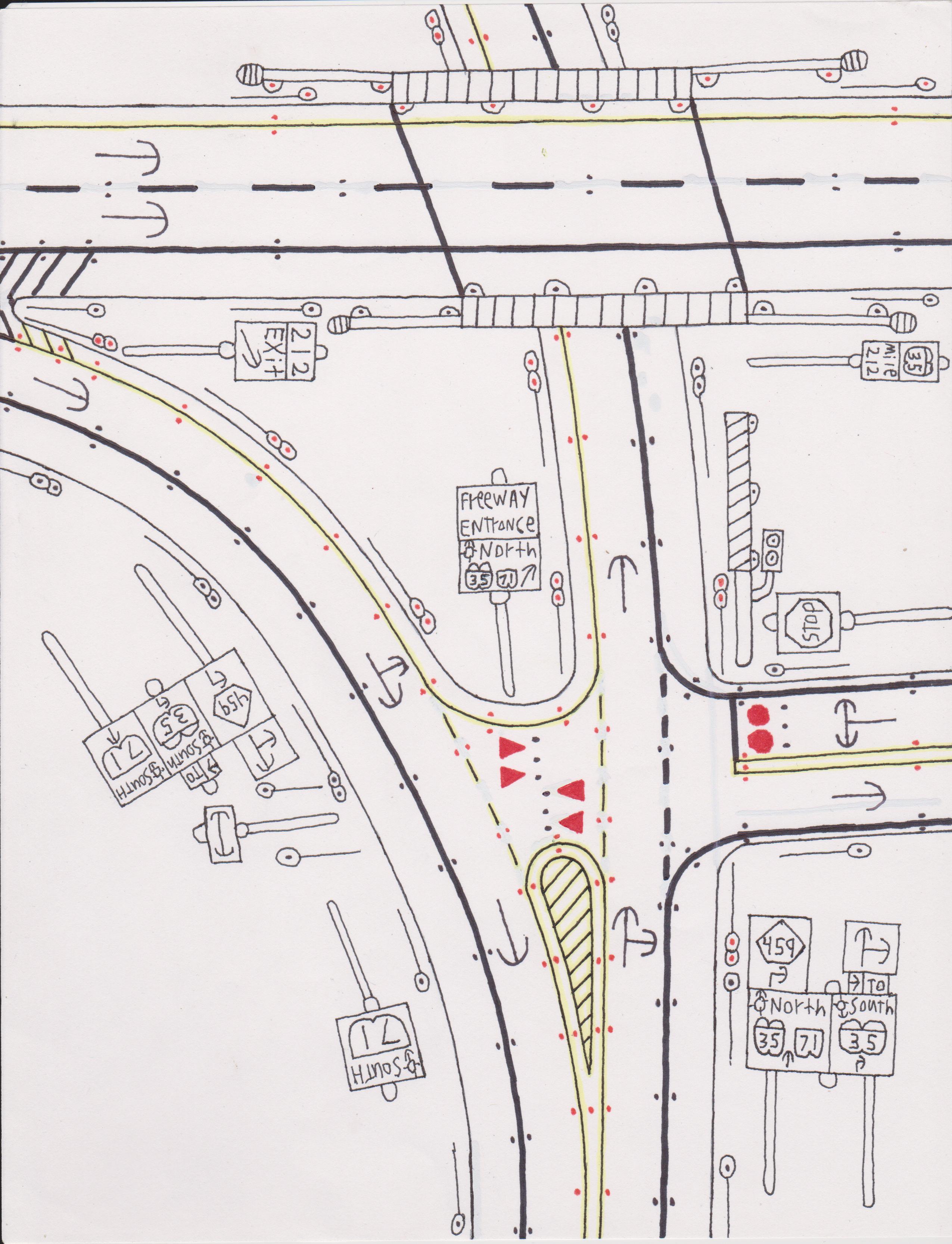 Roadscapes Wednesday: Geek Alabama Road Drawings 58, 59, 60 – Geek ...