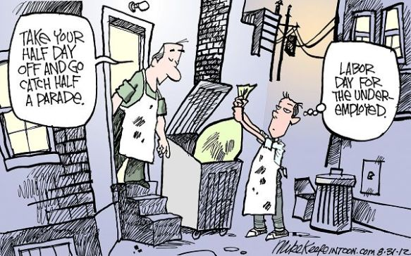 Unemployment Cartoon