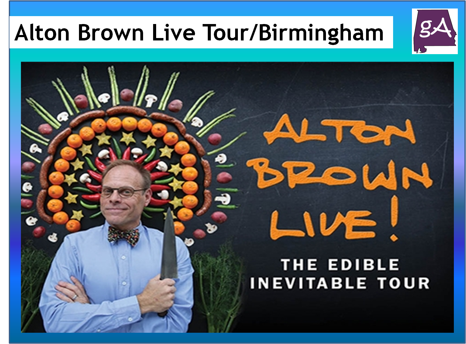 Alton Brown Tour