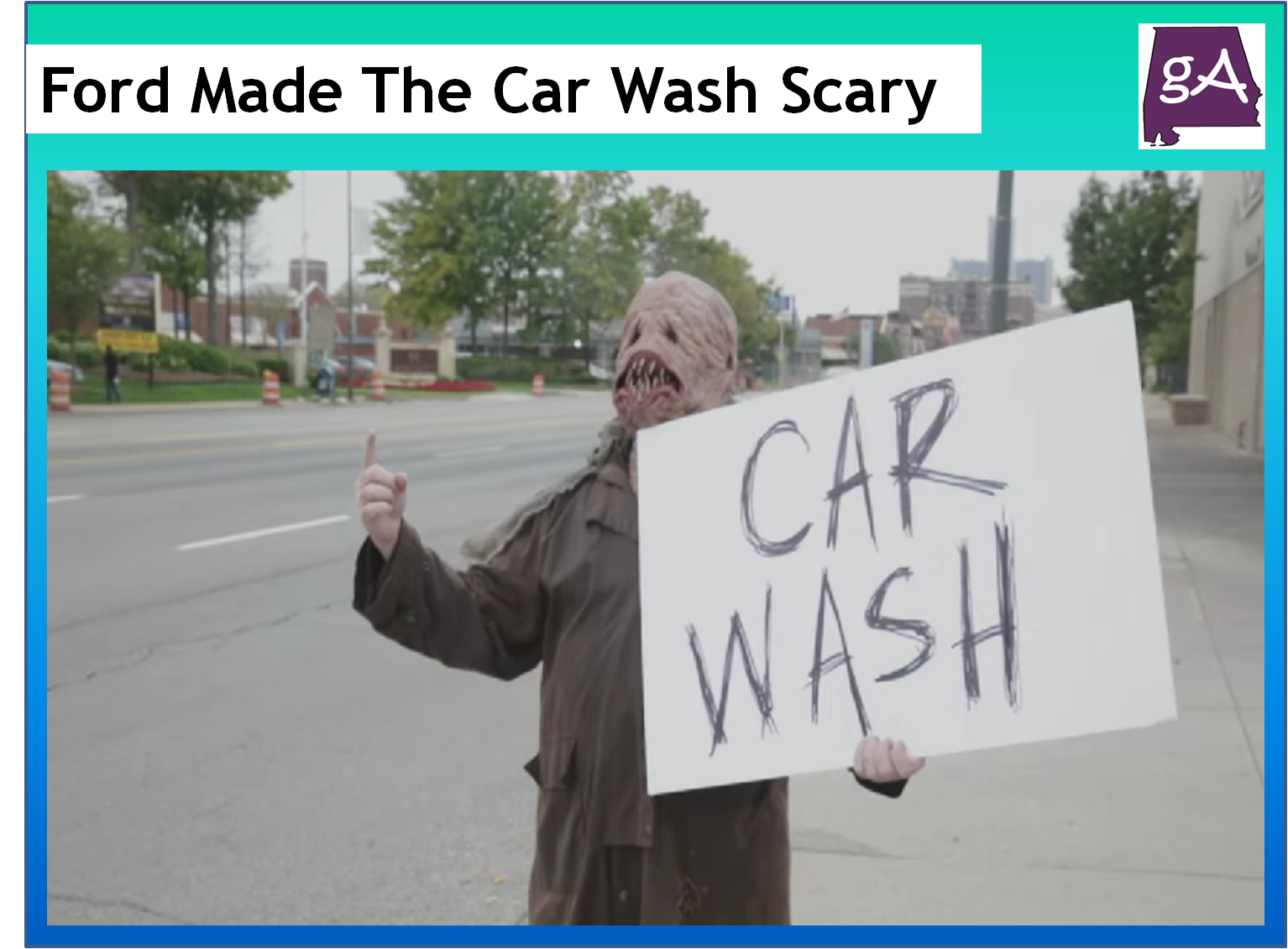 Scary Car Wash Game