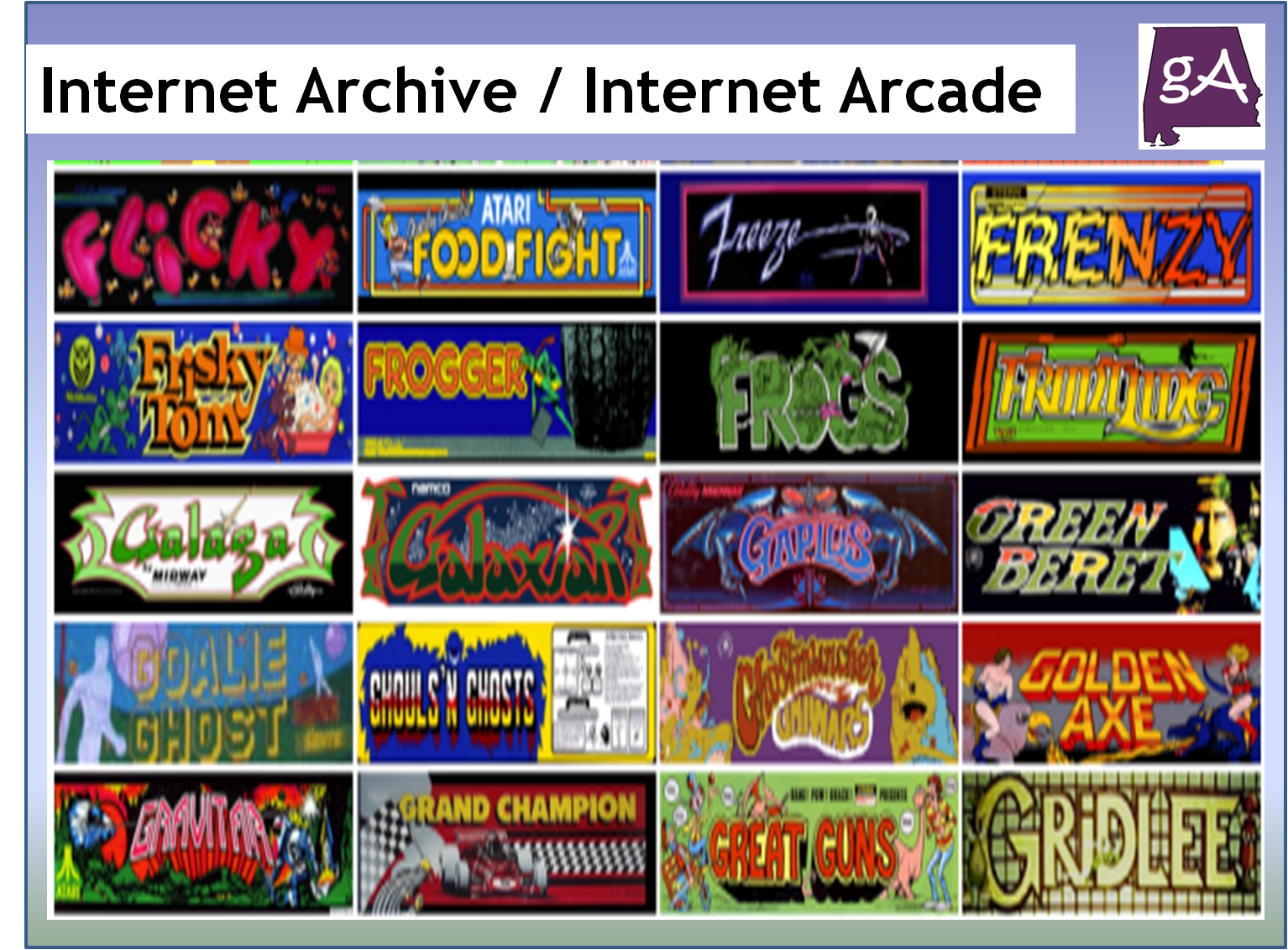 The Internet Archive Got A Lot Cooler With Over 900 Playable Arcade Games Geek Alabama