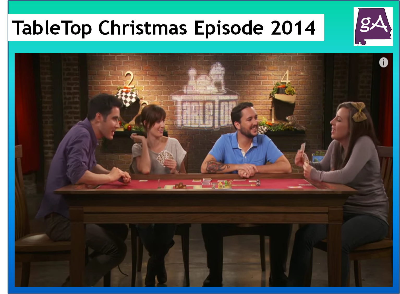 Watch The Special TableTop 2014 Christmas Episode Featuring Two ...