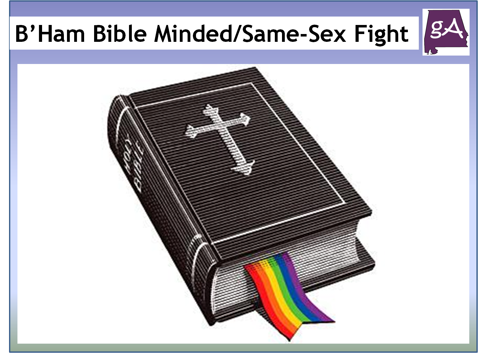 bible belt and same sex marriage in New Orleans
