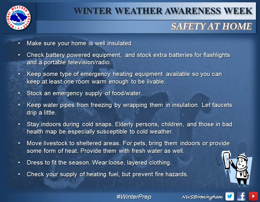 Extreme Cold Weather Tips To Survive The Alabama Arctic