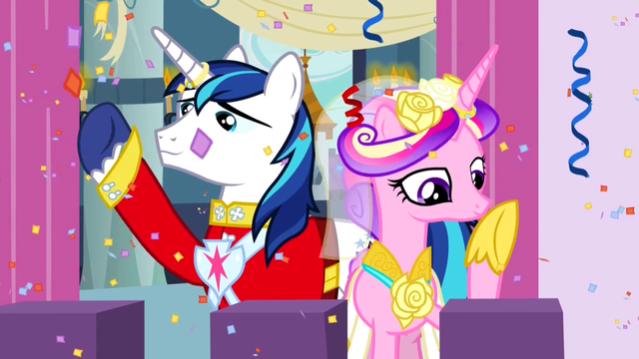 Princess_Cadance_and_Shining_Armor_on_balcony_S2E26