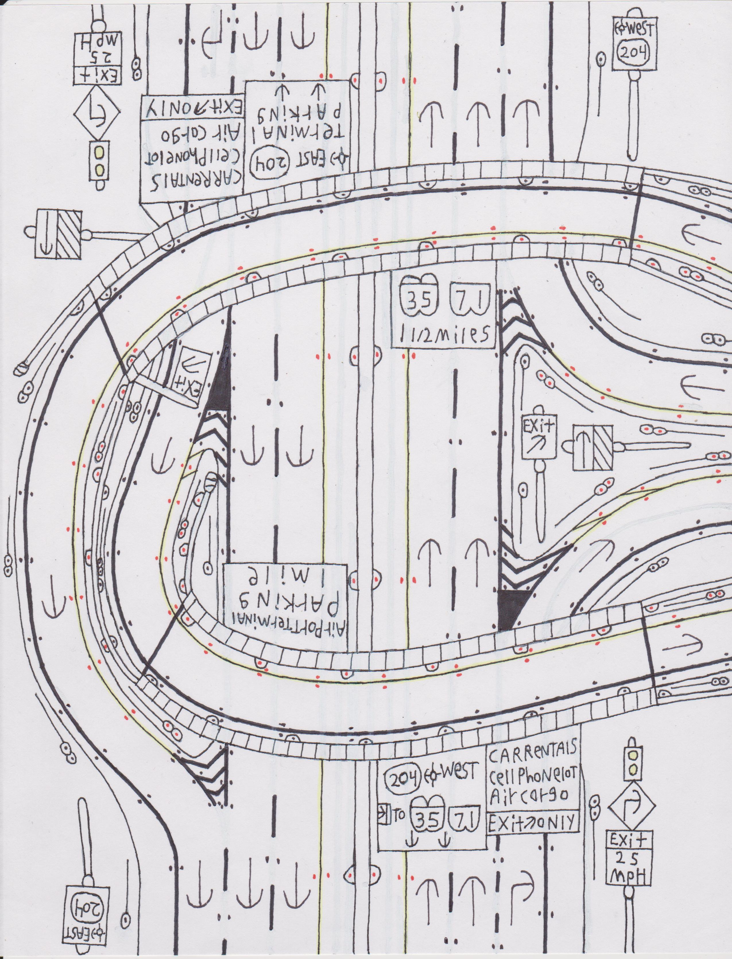 Roadscapes Wednesday: Two New Road Drawings And A Traffic Light ...