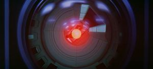HAL-9000-reflecting-Daves-entry-in-Stanley-Kubricks-2001-A-Space-Odyssey