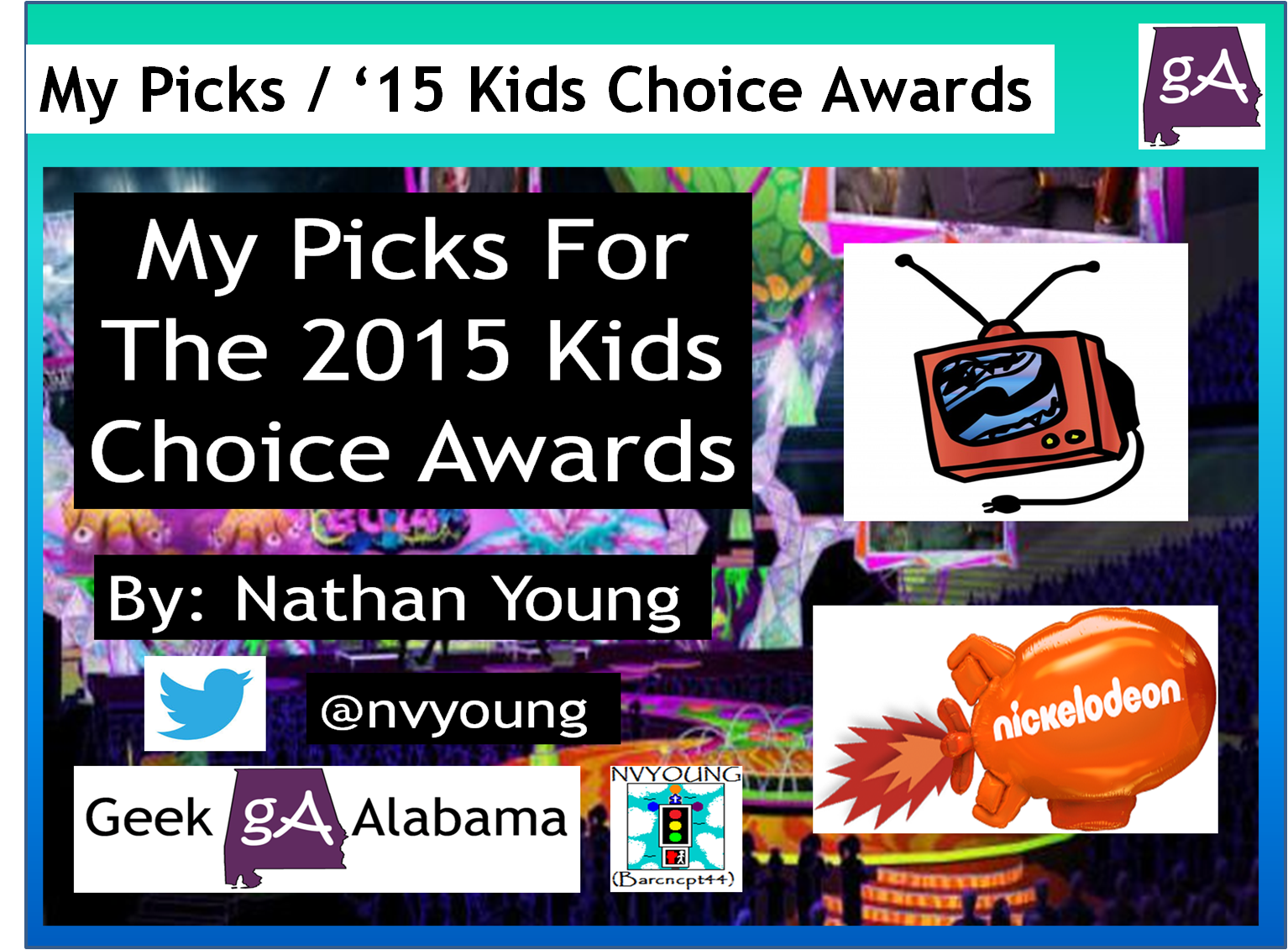 View the my picks for the 2015 nick kids choice awards geek alabama