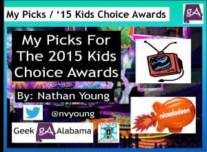 view   picks    nick kids choice awards geek alabama