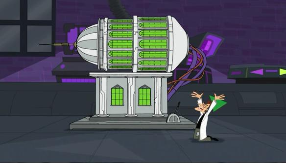 Phineas And Ferb Dr Doofenshmirtz Building Animation Monda...